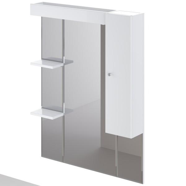 шкаф-зеркало правое итана classic 1.0 85