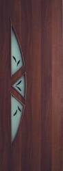 Полотно дверное ЛР-15-800 итальянский орех с фьюзингом