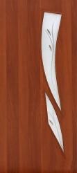 Полотно дверное ЛР-11-600 итальянский орех с фьюзингом