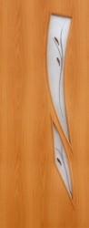Полотно дверное ЛР-11-800 миланский орех с фьюзингом
