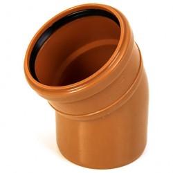 Отвод ф110*30 для наружной канализации РТП