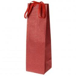 Пакет подарочный 35*10см красный А59100450