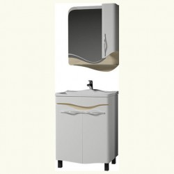 Комплект мебели 65см Velvex IVA Landush