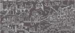 Обои 9303-09 ASNOVA Downtown винил на флизе 1,06*10м подростковый, черный