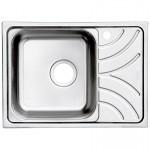 Мойка кухонная нерж. сталь, ARR60SLi77 IDDIS, левая, 60*44, Suno S