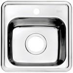 Мойка кухонная нерж. сталь, STR38P0i77 IDDIS, полир. 38*38, Strit S