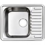 Мойка кухонная нерж. сталь, STR58PLi77 IDDIS, полир.левая, 58*48, Strit S