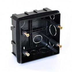 Коробка монтажная под ANAM 2-ая для сплошных стен, с крепежом 100*100*50мм PE DIY B PE 000 033