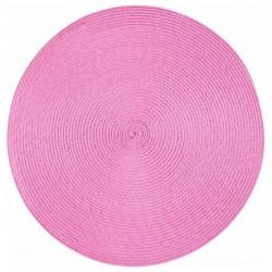 Салфетка сервировочная 38см FRUITS BOUQUET розовая DM2519