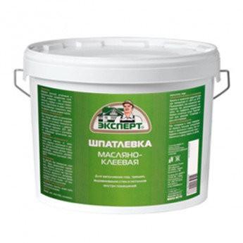 шпатлевка масляно-клеевая 5,0кг /эксперт/