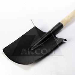 Лопата прямоугольная с черенком