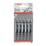 Набор пилок для лобзика Т111 C /5шт/ Bosch 2.608.630.033