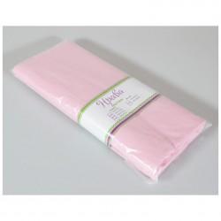 Простынь на резинке 140*210 поликоттон розовый