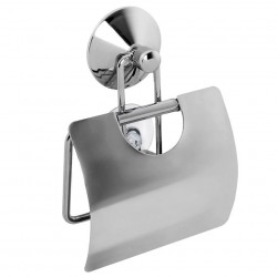 Держатель для туалетной бумаги Real 13*3,5*18 закрытый с вакуумной системой крепления