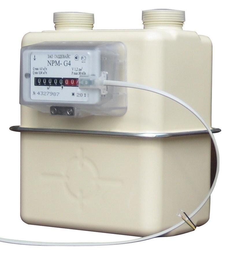Бытовой счетчик газа NPM (НПМ) G1.6