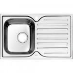 Мойка кухонная нерж. сталь, STR78PRi77 IDDIS, полир., чаша справа, 780*480, Strit S