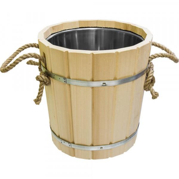 запарник 12л с нержавеющей вставкой банные штучки 33218 термометр для бани и сауны банные штучки парилочка