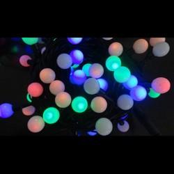 Гирлянда светодиодная наружная Шарики LED100 2,4см 15м OLDBL100-G-E
