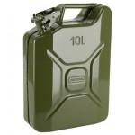 Канистра металлическая 10л для топливных жидкостей