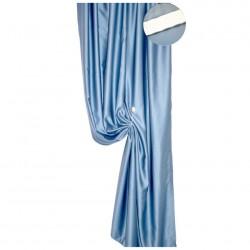 Портьера Блэкаут однотонный 8132/030 2,0*2,5м, на тесьме темно-голубой