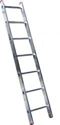 Лестница 1 секция 7 ступеней, макс. высота 1,95м, 150кг Алюмет 5107