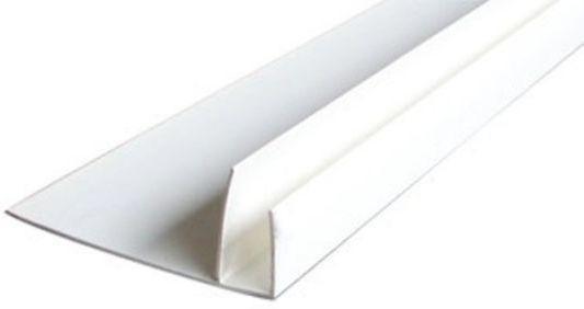 профиль f-образный 55мм 3,0м белый /д/ профиль f образный 55мм 3 0м белый д
