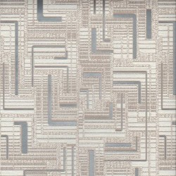 Обои 182-24 HomeColor 0,53*10м винил, геометрия, коричневый