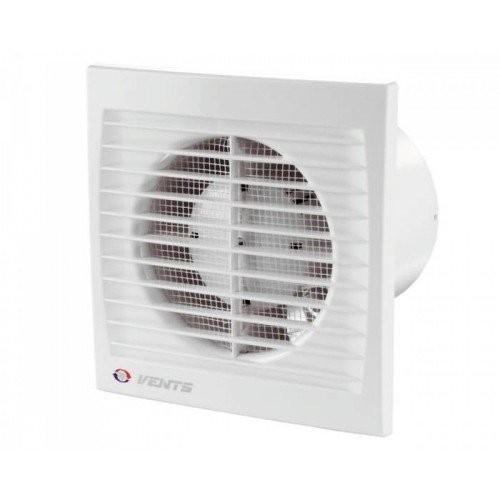 вентилятор вытяжной осевой накладной 150мм вентс 150с белый, с москитной сеткой, vents