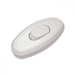 Выключатель для бра 6А белый Универсал А106