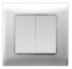 Выключатель 2кл Magenta с/у белый V01-11-V21-S