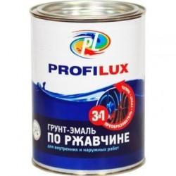 Грунт-эмаль по ржавчине 3в1 0,9кг Синяя Профилюкс