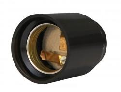 Патрон карболитовый люстровый, Е27, черный UNIVERSAL М10 4А 250В инд. упак.