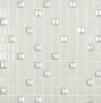 Мозаика Vidrepur №100 EDNA White 31,7*31,7 на сетке