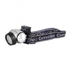 Фонарь Camelion LED 5310-7F3 7LED металлик 3xR03 НАЛОБНЫЙ