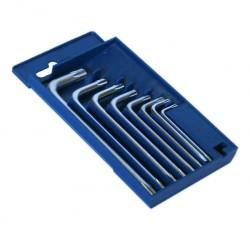 Набор ключей Torx  8шт Т9-Т40 в пласт.футляре Santool 031656
