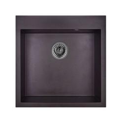 Мойка гранитная Granula 505*505 GR-5102 черная