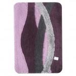 Коврик для ванной 60*100см HJ-T1230 Альбина фиолетовый 4537