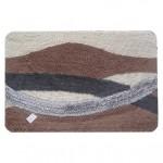 Набор ковриков для ванной 2шт 50*80 55*55 Альбина коричневый HJ-T1230 4529