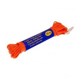 Веревка бельевая пластик 10м ЭКО R102810