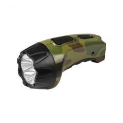 Фонарь Ultra Flash LED3804ML 4 LED милитари аккумулятор. AKKU PROFI