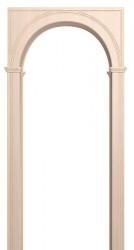 Блок арочный Палермо дуб беленый 700*200*1800 ПВХ со сводорасширителем