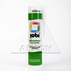 Герметик JOBI 290мл силиконовый белый 9834