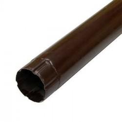 Труба соединительная ф100 1м ПЭ RAL 8017