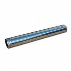 Труба соединительная ф100 1м оцинкованная