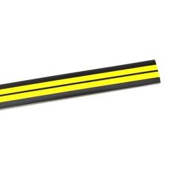 Порог угловой антискользящий самокл. 0,91м черн/желтый Ziber