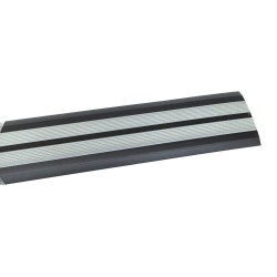 Порог прямой антискользящий самокл. 0,91м т.серый/серый Ziber