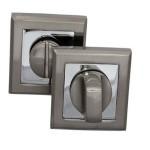 Завертка дверная WC16FН графит/хром Cordi