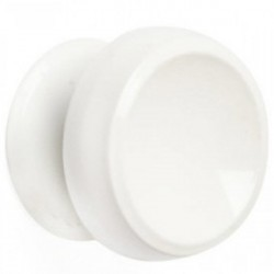 Ручка -кнопка 1-0750 Б, РК 1М белая