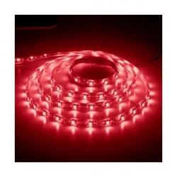 Лента светодиодная 60SMD(3528) 4.8W/m 12V IP65 красный LS604