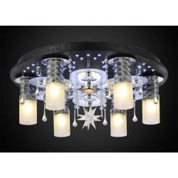 Люстра Панель 1-1146-6-CR-LED Y Е27+G5.3 235Вт пульт